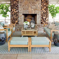 71 Breezy Porches and Patios   Nature-Inspired Porch   SouthernLiving.com