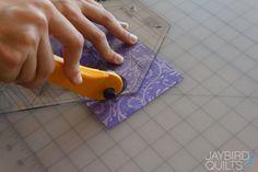 Hex N More Cutting Tutorials - Hexagon | Jaybird Quilts