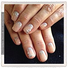 Elegant gel nails. #gel #nude #nails