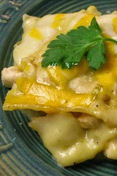 New Mexico Style Chili Chicken Casserole