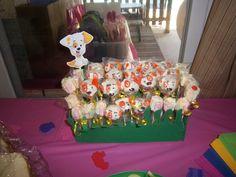 Bubble Guppie Cake Pops