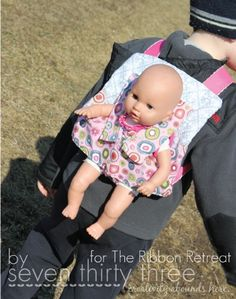 Baby Doll Carrier(sweet but not proper way)
