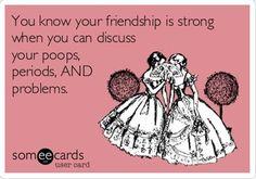 The Three Ps & Friendship @Katie Heim ecard, giggl, funni, truth, hilari, bff, friendship, besti, three ps