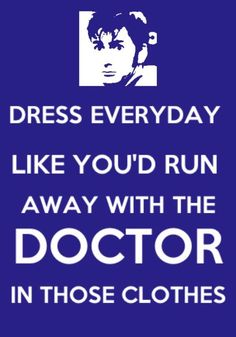 Best fashion advice I've ever heard...