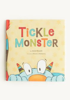 Tickle Monster Book at #Ruche @Ruche