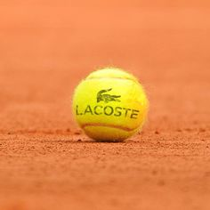 Tennis - The red clay of Roland Garros - Lacoste