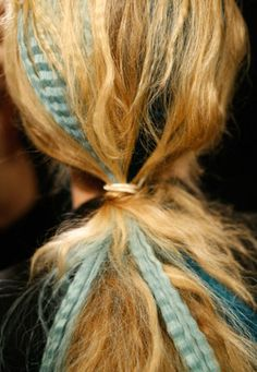 2013 Hair Trend |Crimped Hair (circa 1980)