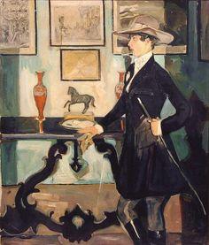 Mario Cavaglieri, Giulietta en coulotte de cheval, 1920