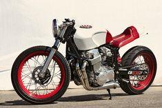 Fuller Honda CB750. Which is actually an 836cc
