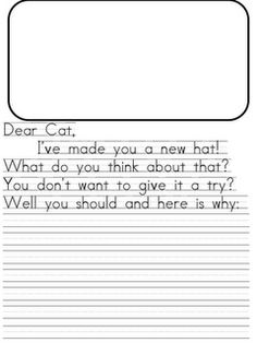 Persuading with Dr. Seuss  I think this is a cute idea for kids to give Dr. Seuss a new hat.