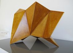 Tom Lauerman, Tip Toe Screen, wood, shellac, 2012