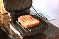 George Foreman Grill = Panini Press!  Easy panini recipes