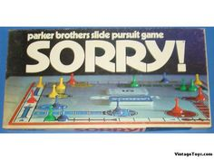 Sorry game, 1970s...yep, we played a lot, my siblings & I