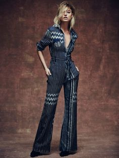One Teaspoon Chrysler Jumpsuit at Free People Clothing Boutique