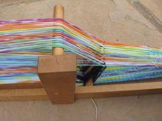weaving using t-shirt yarn