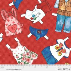 "Today's PAPER Dolls CLOTHES that Fit the 16"" Dolls-FREE Instructions!! 597-24"
