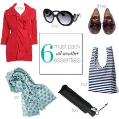 Pin this now, read it later when you're packing for a summer trip - http://www.hithaonthego.com/6-must-pack-all-weather-essentials/ #travel #packing