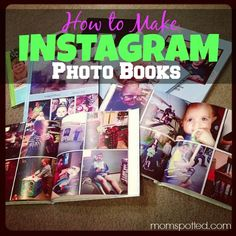 How to Make an #Instagram Photo book with #Shutterfly {Step By Step #Tutorial}