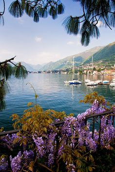 Peaceful Como Lake, Italy