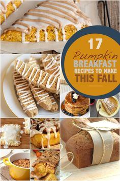 How to start your day off right: 17 Breakfast Pumpkin Recipes. #PumpkinIsASeason