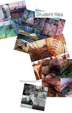 Holga Inspired Tiles // Digital Photography Lesson Good website for lesson idea!