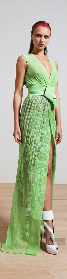 Glamour gown..Basil Soda Spring-summer 2015.