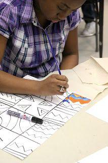 Great blog! teaching elementary art