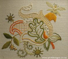 jacobean embrodery