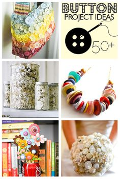 Over 50 Button Crafts to Make