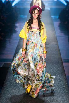 Jean Paul Gaultier model inspired by Boy George - Spring 2013