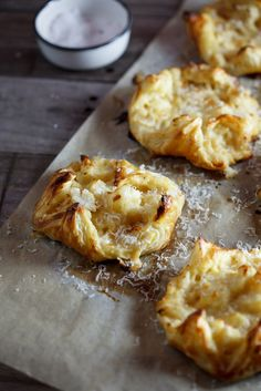 Cauliflower cheese pastries
