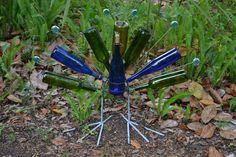 bottle peacock