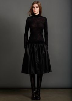 HALSTON HERITAGE Fall 2013 Collection  A silhouette I enjoy very much right now.
