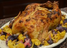 Whole Roasted Chicke