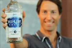 Deep Eddy Vodka... perhaps I'm partial because that's my husband in the photo?