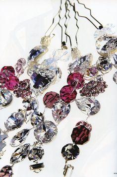 Jeweled Hair Pins