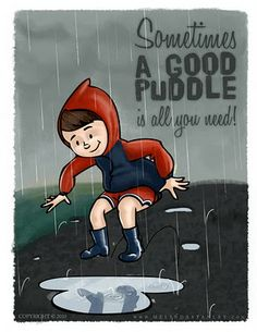 puddle therapy - stomp it out