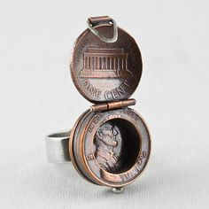Abe's Lucky Locket, from Stacy Lee Webber. WANT.