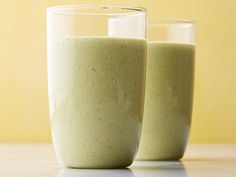 Repinned: Green Morning Smoothie #myplate #dairy #starch #fruit