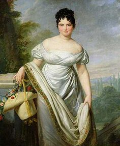 Madame Tallien by Jacques-Louis David