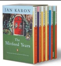 Jan Karon's Mitford books are the best!  You will laugh and cry and be inspired by Jan Karon's books.