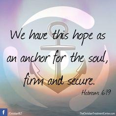 #Inspiration #Quotes #Scripture #Anchor