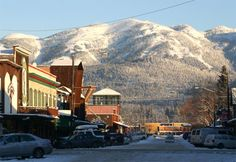 Whitefish, Montana - Big Mountain  The skiing is great as well as the town. Watch out for the fog.