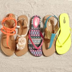 Summer sandals are here!! And the best news: they start at just $5!