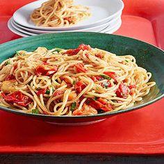 Rachael Ray's Venetian-Style Spaghetti all'Arrabbiata 30-Minute Meal