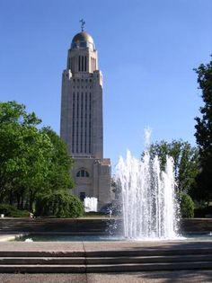 Nebraska State Capital, Lincoln, Nebraska, USA