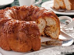 Butterscotch Bubble Loaf #Recipe #Breakfast