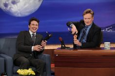 James Franco And Conan Are Just Two Dudes Undressing Dolls That Looks Like Themselves