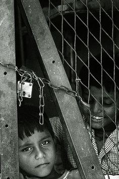 Child Labor - Locked in the factory; Calcutta.