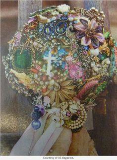 Beautiful jewelry bouquet